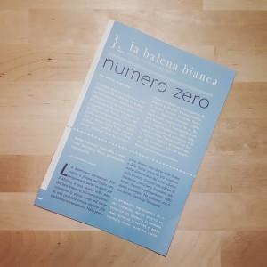 sostieni la balena - numero zero